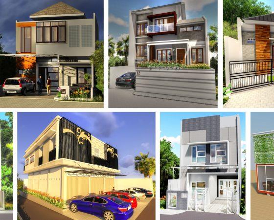 Gambar Desain Arsitektur dan Gambar Kerja (DED)